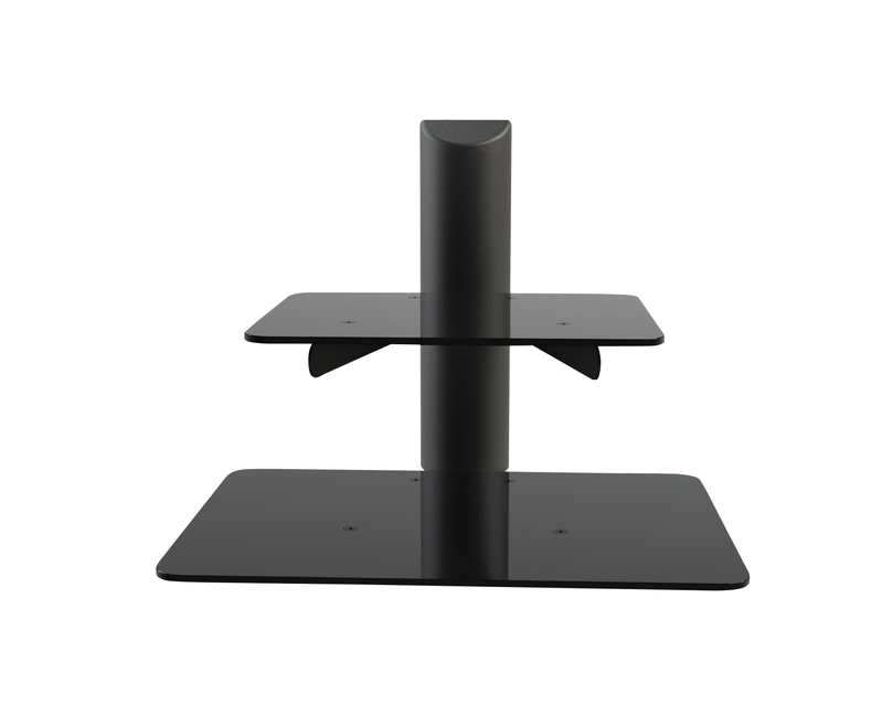 wall mount electronic component shelf ch 001b. Black Bedroom Furniture Sets. Home Design Ideas